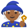 Mage: Medium-Dark Skin Tone on Google Android 11.0 December 2020 Feature Drop