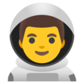 Man Astronaut on Google Android 11.0 December 2020 Feature Drop