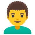 Man: Curly Hair on Google Android 11.0 December 2020 Feature Drop