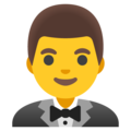 Man in Tuxedo on Google Android 11.0 December 2020 Feature Drop