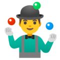 Man Juggling on Google Android 11.0 December 2020 Feature Drop