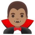 Man Vampire: Medium Skin Tone on Google Android 11.0 December 2020 Feature Drop
