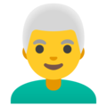 Man: White Hair on Google Android 11.0 December 2020 Feature Drop