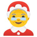 Mrs. Claus on Google Android 11.0 December 2020 Feature Drop