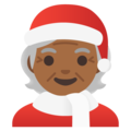 Mx Claus: Medium-Dark Skin Tone on Google Android 11.0 December 2020 Feature Drop