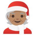 Mx Claus: Medium Skin Tone on Google Android 11.0 December 2020 Feature Drop