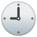 Nine O'Clock on Google Android 11.0 December 2020 Feature Drop