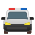 Oncoming Police Car on Google Android 11.0 December 2020 Feature Drop