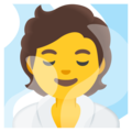 Person in Steamy Room on Google Android 11.0 December 2020 Feature Drop