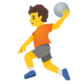 Person Playing Handball on Google Android 11.0 December 2020 Feature Drop