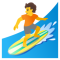 Person Surfing on Google Android 11.0 December 2020 Feature Drop