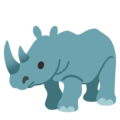 Rhinoceros on Google Android 11.0 December 2020 Feature Drop