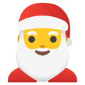 Santa Claus on Google Android 11.0 December 2020 Feature Drop