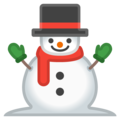 Snowman Without Snow on Google Android 11.0 December 2020 Feature Drop