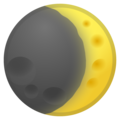 Waxing Crescent Moon on Google Android 11.0 December 2020 Feature Drop