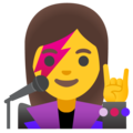 Woman Singer on Google Android 11.0 December 2020 Feature Drop