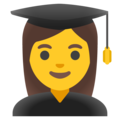 Woman Student on Google Android 11.0 December 2020 Feature Drop