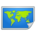 World Map on Google Android 11.0 December 2020 Feature Drop