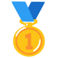 1st Place Medal on Google Android 12.0