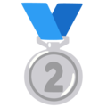 2nd Place Medal on Google Android 12.0