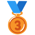 3rd Place Medal on Google Android 12.0