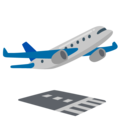 Airplane Departure on Google Android 12.0