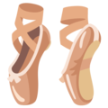 Ballet Shoes on Google Android 12.0