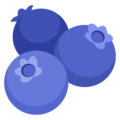 Blueberries on Google Android 12.0