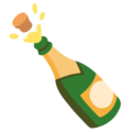 Bottle with Popping Cork on Google Android 12.0