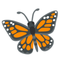 Butterfly on Google Android 12.0
