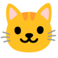 Cat Face on Google Android 12.0