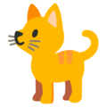 Cat on Google Android 12.0