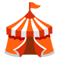 Circus Tent on Google Android 12.0