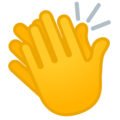 Clapping Hands on Google Android 12.0