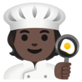 Cook: Dark Skin Tone on Google Android 12.0