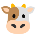 Cow Face on Google Android 12.0
