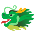 Dragon Face on Google Android 12.0