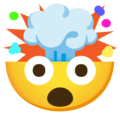 Exploding Head on Google Android 12.0