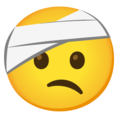 Face with Head-Bandage on Google Android 12.0