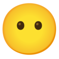 Face Without Mouth on Google Android 12.0