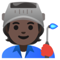 Factory Worker: Dark Skin Tone on Google Android 12.0