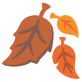 Fallen Leaf on Google Android 12.0
