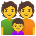 Family on Google Android 12.0