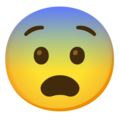 Fearful Face on Google Android 12.0