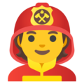 Firefighter on Google Android 12.0