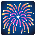 Fireworks on Google Android 12.0