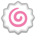 Fish Cake with Swirl on Google Android 12.0