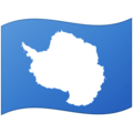 Flag: Antarctica on Google Android 12.0