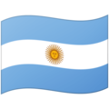 Flag: Argentina on Google Android 12.0