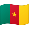 Flag: Cameroon on Google Android 12.0